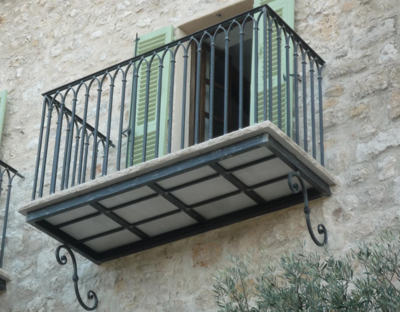 Alu system fer forg for Fer forge balcon